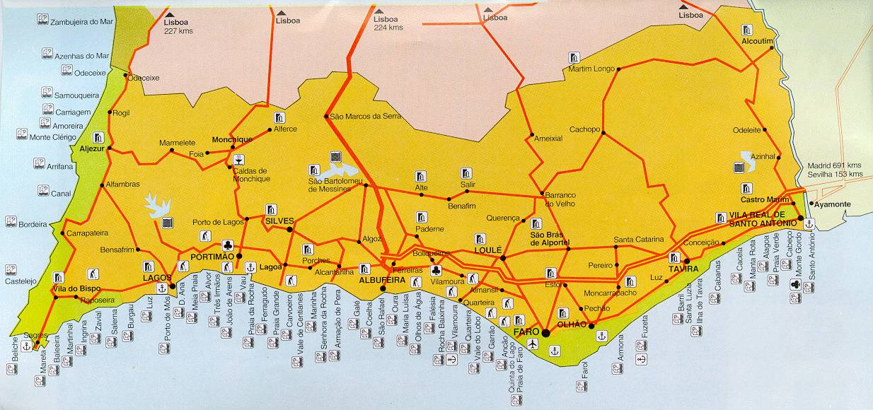 Maps Wwwcarvoeirocom - Portugal motorway map