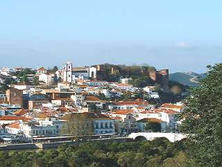 Silves with castle