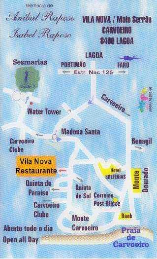 Maps Wwwcarvoeirocom - Portugal map carvoeiro