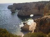 Shortcut to Marinha Beach