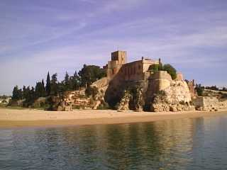 Castle in Ferragudo